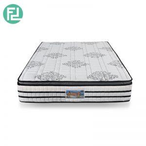 "Fiberstar HUGO 2 super single size 10"" coconut fibre spring mattress with plus top"