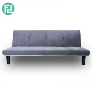 Clearance- MARIA velvet fabric 3 seater sofa bed-(Last piece)