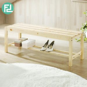OCMAC P01 wooden bench-2 colors