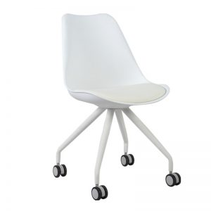 RIZE Ergonomic office chair-white