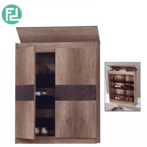 SC55013-235 shoe cabinet with hidden compartment