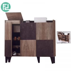 SC55015-235 Shoe cabinet with hidden compartment
