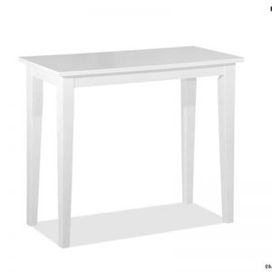 SHAKER 3ft solid wood console table- 2 colors