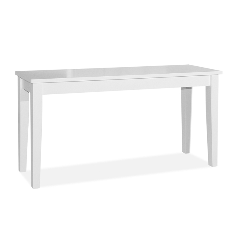 Excellent Shaker 5Ft Solid Wood Console Table 4 Colors Home Interior And Landscaping Fragforummapetitesourisinfo
