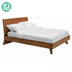 STANDLEY solid wood queen size bed frame- 2 colors
