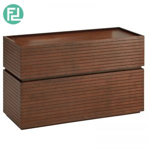 STANLEY 3ft wood veneer dresser- 2 colors