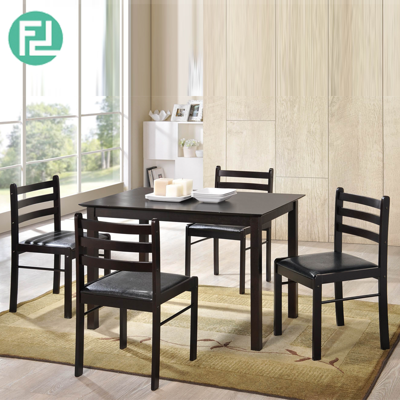 Starter 5 Pieces Dining Set Cappucino Furnituredirect Com My