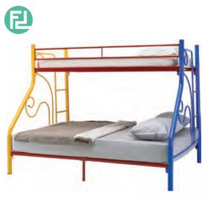 TORIN single over queen double decker bunk bed
