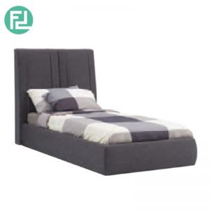 VANI fabric single bed frame