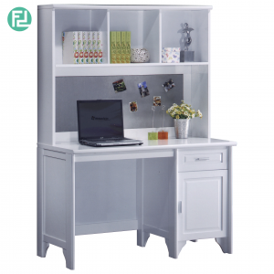 VIRGINIA solid wood painted study desk-white