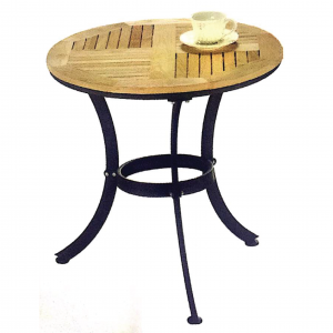 ZLS301 Solid wood outdoor round table