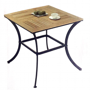 ZLS305 solid wood outdoor square table