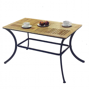 ZLS307 Solid wood outdoor rectangular table