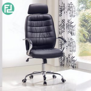 Z0S3756 Ergonomic modern director chair- Black