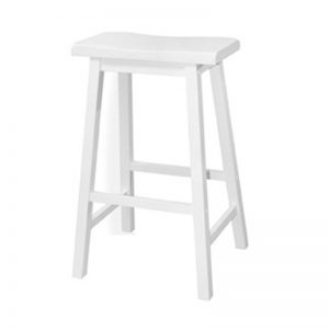 "RIZE solid wood 29"" stool-4 colors"