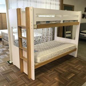 Clearance-solid oak kids bunk bed