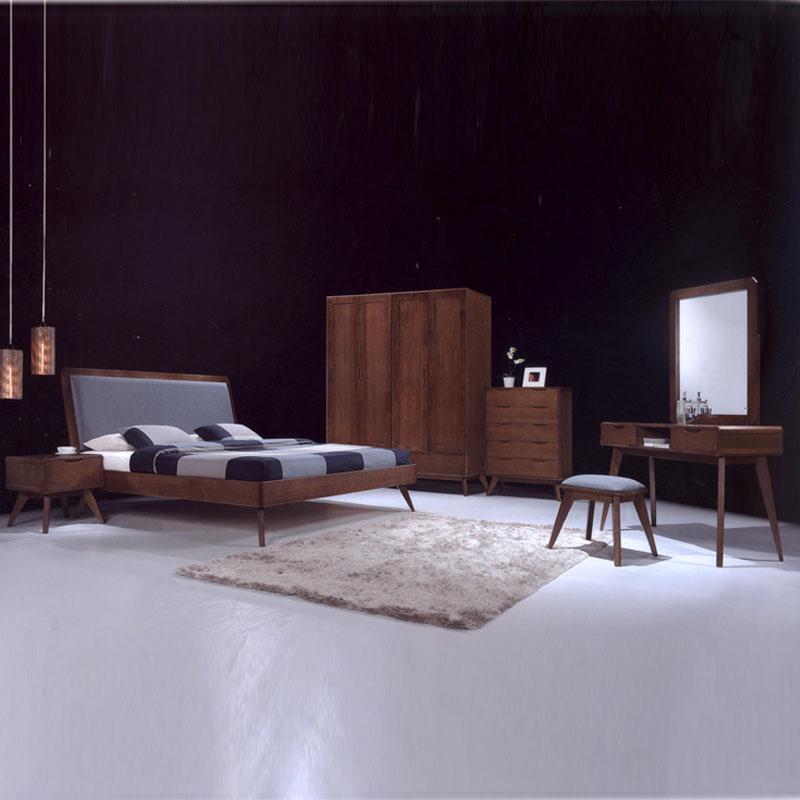 modesto solid wood 5ft tv cabinet walnut. Black Bedroom Furniture Sets. Home Design Ideas