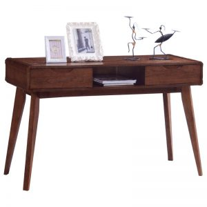 MODESTO Solid wood console table study desk-walnut