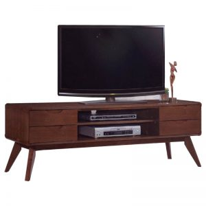 MODESTO Solid wood 65ft TV cabinet-walnut