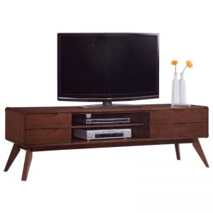 MODESTO Solid wood 6ft TV cabinet-walnut
