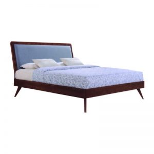 MODESTO Solid wood king size bedframe- walnut