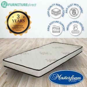 MASTERFOAM sleep zee single size 5inc mattress