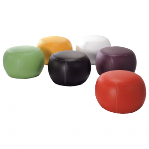 IG25004 PVC round stool- 6 colors