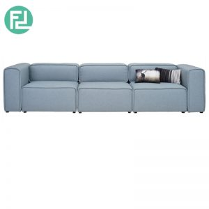 ACURA 3 seater fabric modular sofa
