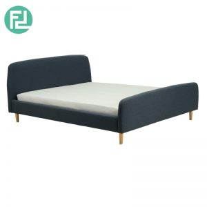 GUIDO queen size fabric bed frame-3 colors