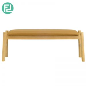Chambly solid wood bench