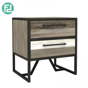 HACHI solid acacia wood side table