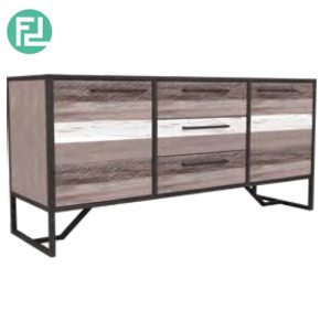 HACHI solid acacia wood sideboard