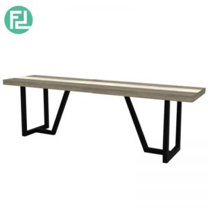 HACHI 1.7m solid acacia wood bench