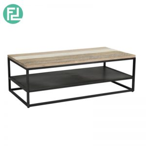 HACHI 4ft solid acacia wood coffee table