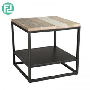 HACHI 50x50cm solid acacia wood side table
