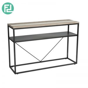 HACHI 4ft solid acacia wood console table
