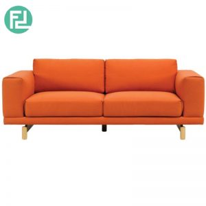 MONZA 2 seater contemporary fabric sofa- 3 colors