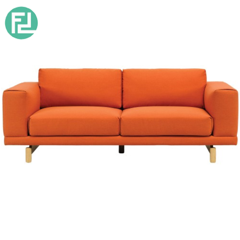 Monza 2 Seater Contemporary Fabric Sofa