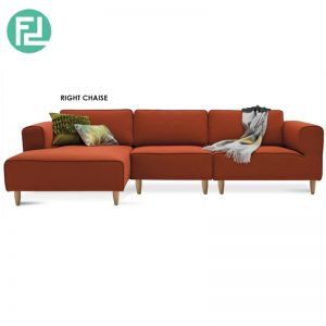 DERBY 3 SEATER 'L' SHAPE