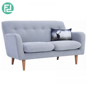 SPORTAGE 2 seater fabric sofa-light grey