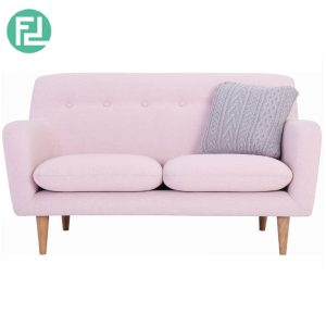 SPORTAGE 2 seater fabric sofa-pink