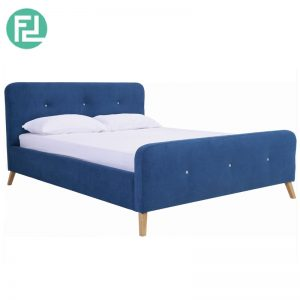 MARSTON queen size fabric bed frame