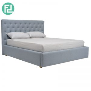 DUSTIN king size fabric bed frame