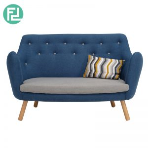 REGAL 2 seater fabric sofa- 2 colors