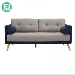 LANCER 2 seater fabric sofa-Blue