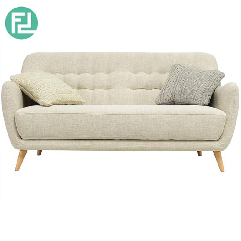 COOPER 2 seater fabric sofa-almond