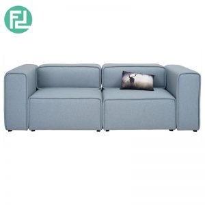 ACURA 2 seater fabric modular sofa