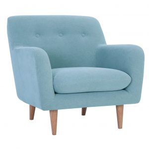 SPORTAGE 1 seater fabric sofa-light grey