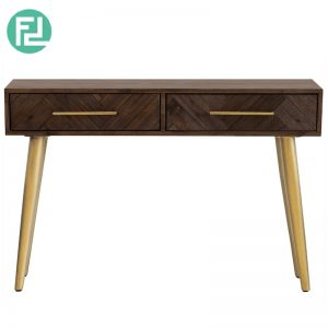 SELSEY Solid Acacia Wood 4ft console table (Imported from Vietnam)