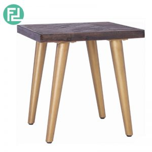 SELSEY solid acacia wood side table